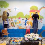 2017 Iloinen laivamatka seinämaalaustyöpaja, kuva Juhani Valtola