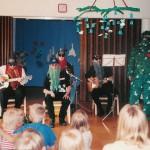 1995 Z.Z.Topelius-yhtye esiintyy