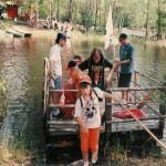 1996 Lapsia Seikkailujen Saaren lauttamatkalla