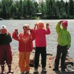 2000 Kalastuskoulun kalansaaliita