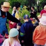 2001 Vekarapuun istutus